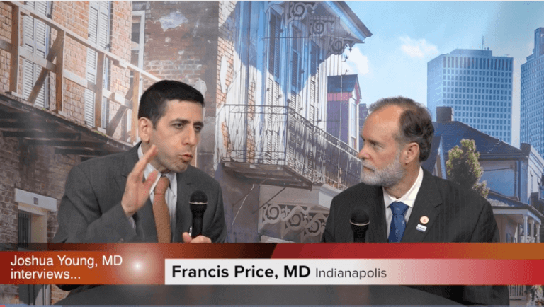 Francis Price, MD Speaking on TV